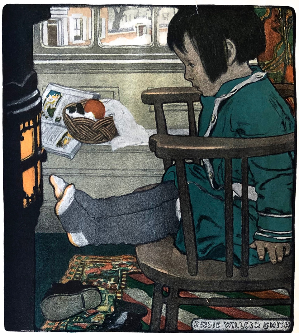 Book Illustrated by Jessie Wilcox Smith