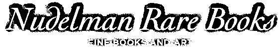 Logo for Nudelman Rare Books
