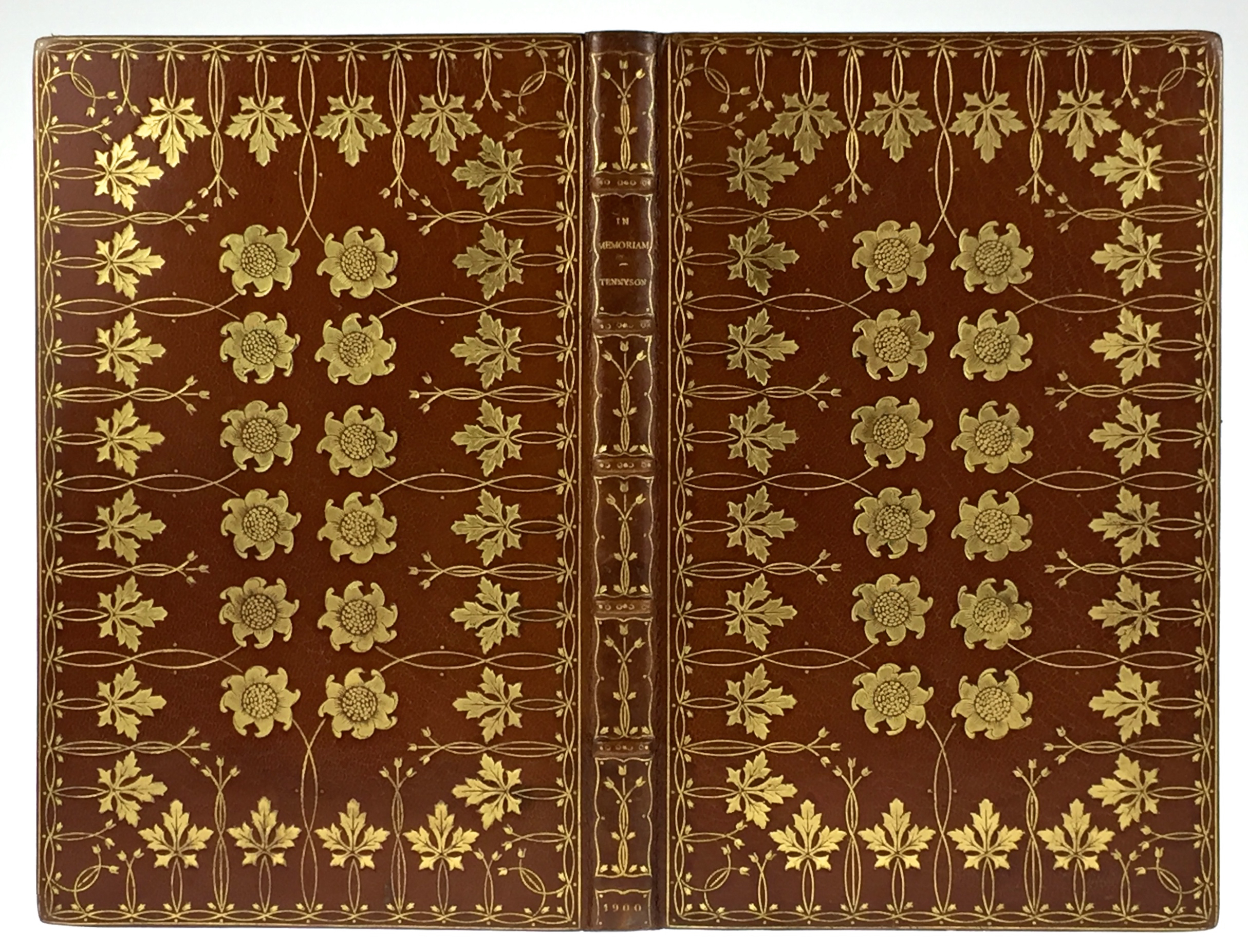 Tennyson Poem in Riviere Binding