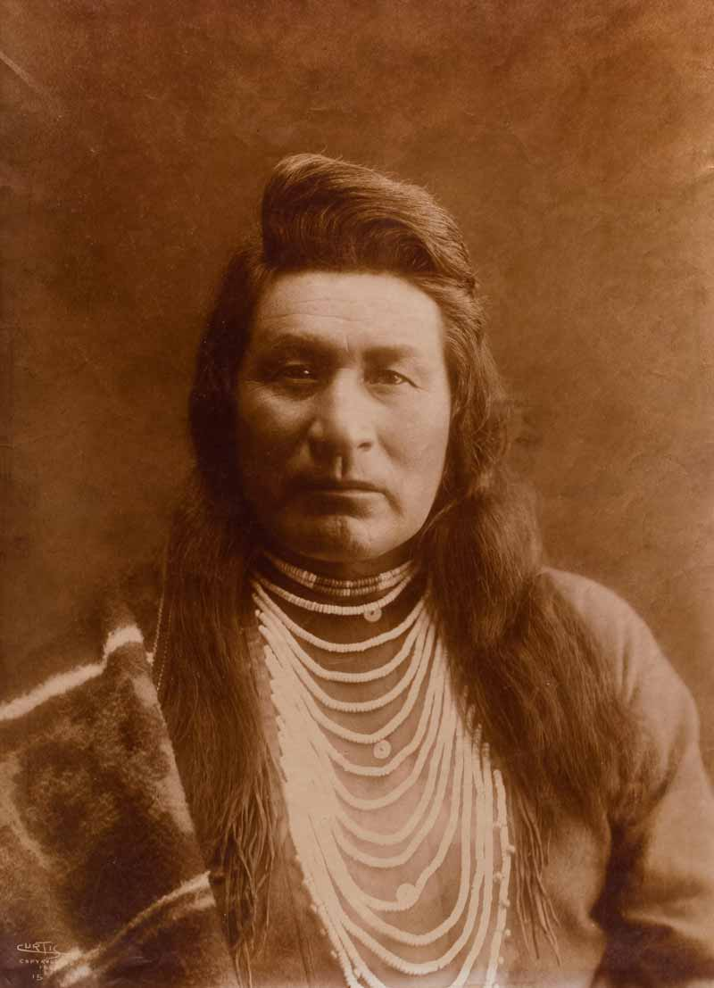 Typical Nez PerceGold-Toned Printing-Out-Paper Prints - Typical Nez Perce