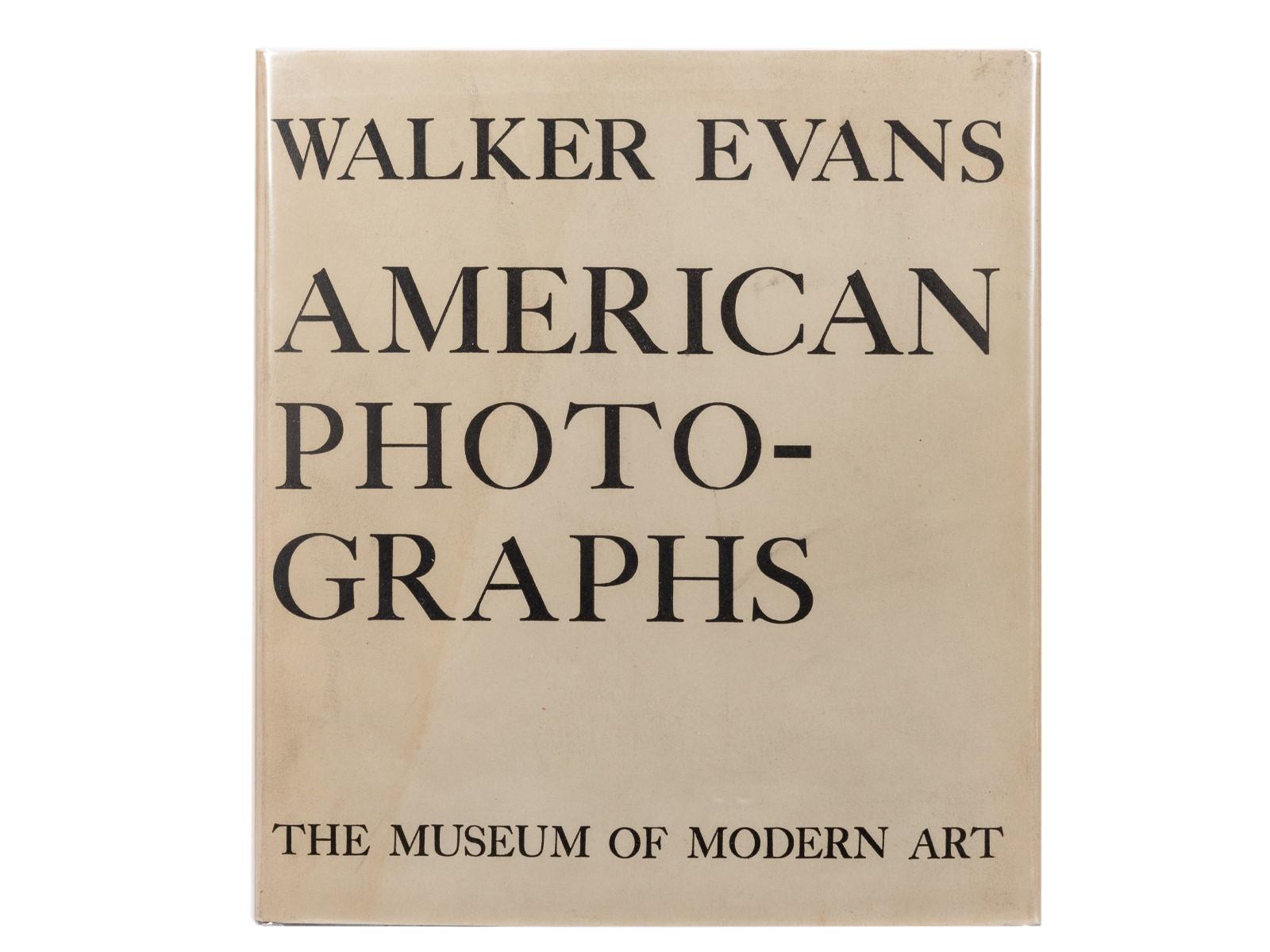 Walker Evans's American Photographs