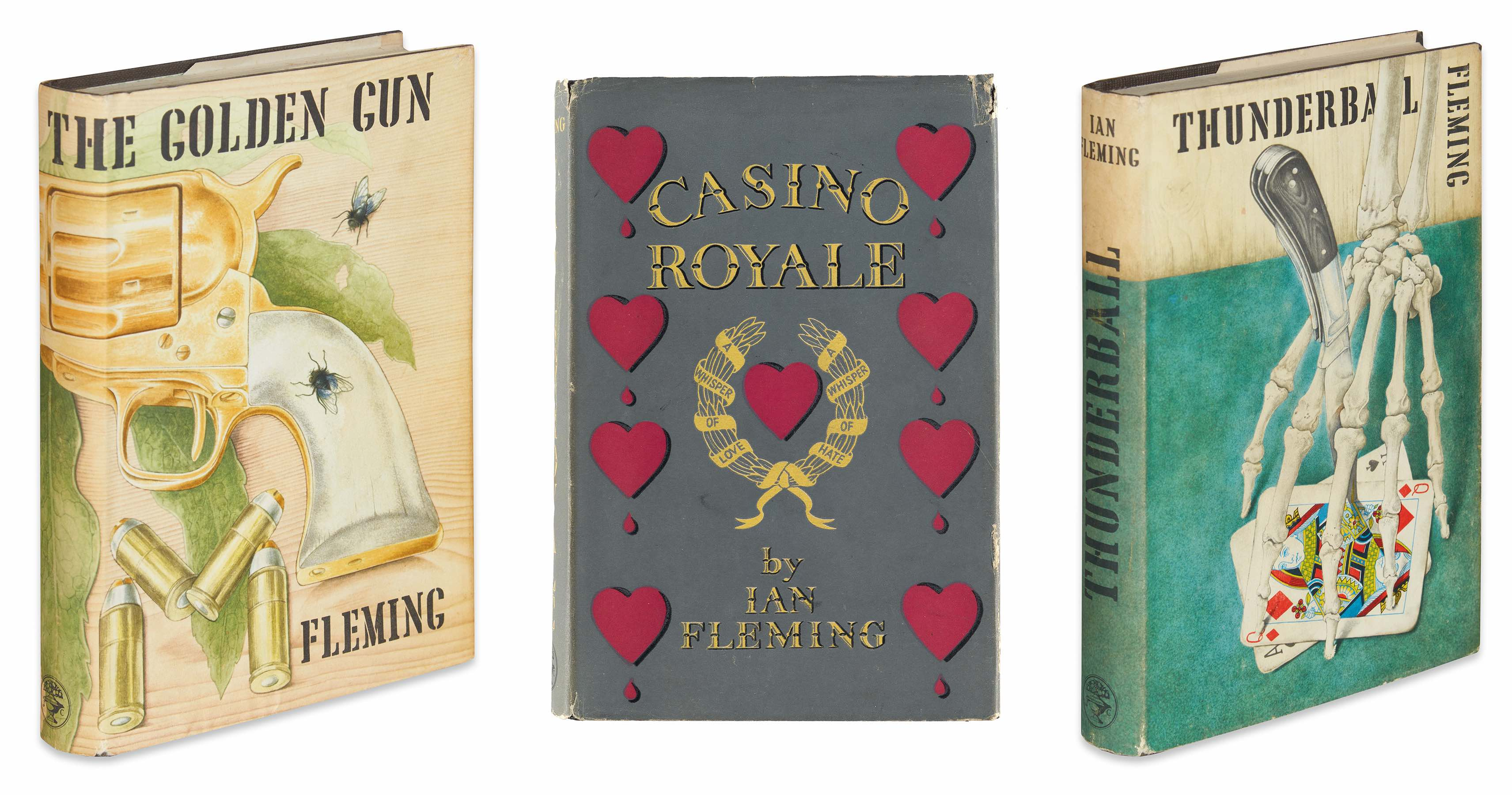 Ian Fleming first editions