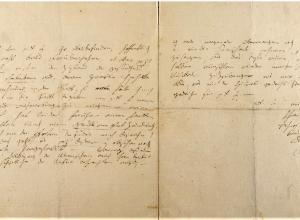 1825 Beethoven autograph letter