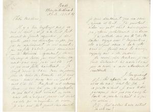 Ivan Turgenev letter