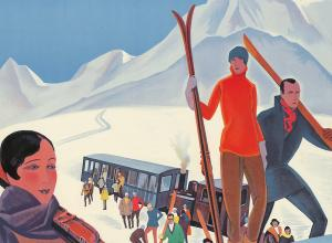Roger Broders, Winter Sports in the French Alps