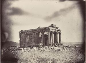Temple of Baalshamin, Louis Vignes, 1864. Albumen print.