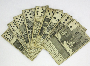 South Sea Bubble playing cards