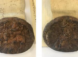 Elizabethan wax seal