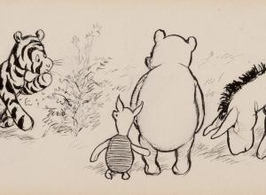 Ernest Howard Shepard Pooh illustration