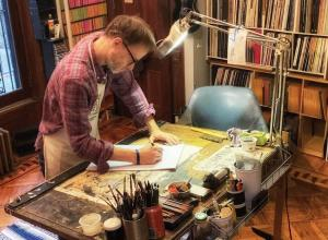 Artist George Cochrane