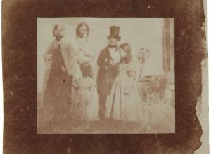 William Henry Fox Talbot photo of family