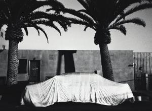 Robert Frank, Covered Car, Long Beach, California