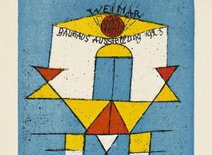 Paul Klee, Bauhaus Ausstellung Juli – Sept. 1923 Weimar