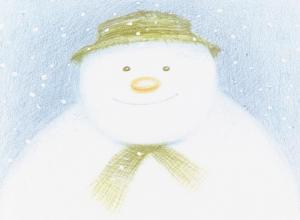 Snowman book by Raymond Briggs