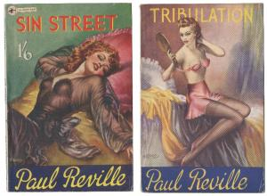 Pulp Fiction book covers