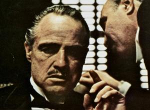 A collection of Brando's scripts, letters, and memorabilia for The Godfather