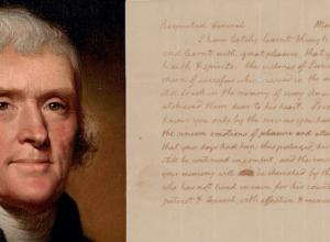 Thomas Jefferson letter