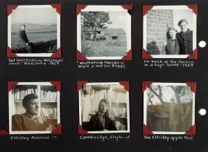 Sylvia Plath photo album image