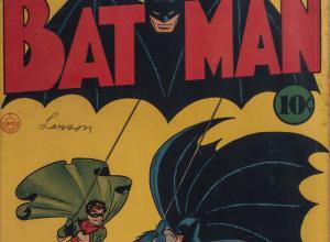 Batman No. 1 comic
