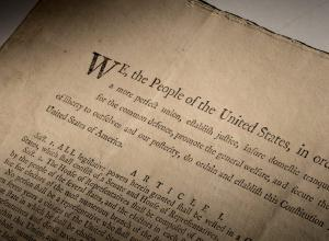 First Printing of the U.S. Constitution