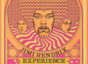 1968 Fillmore East concert poster of Jimi Hendrix