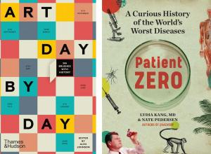 Art Day by Day / Patient Zero book covers