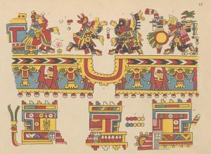 Manuscrit Mexicain by Henri de Saussure