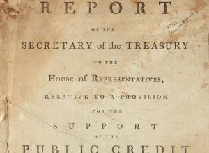 Report of the Secretary of the Treasury to the House of Representatives...1790