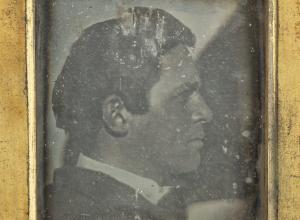 Daguerreotype portrait of Henry Fitz Jr.
