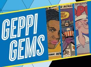 Geppi Gems exhibit poster