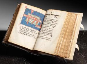 Page spread from the Luzzatto mahzor