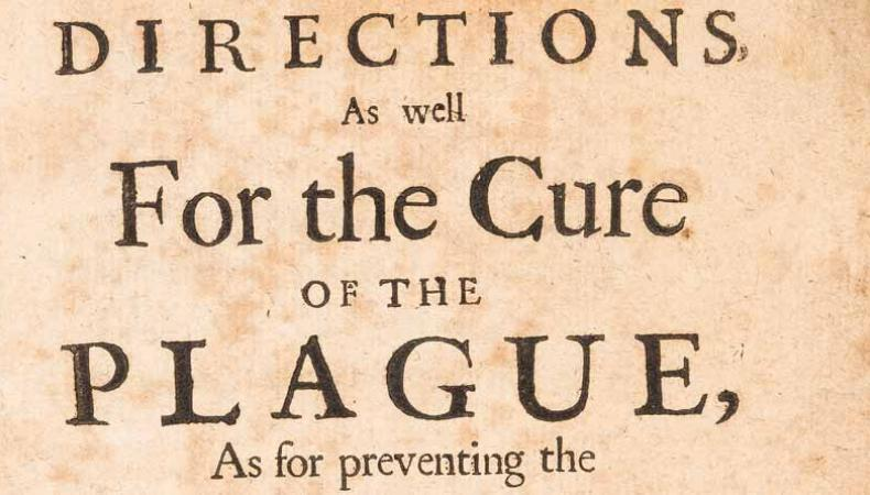 Directions for the Cure of the Plague… (1665).