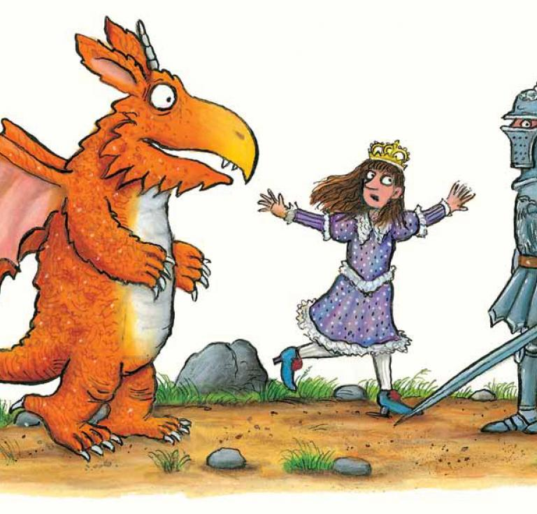 © Zog by Julia Donaldson, illustrated by Axel Scheffler 2010