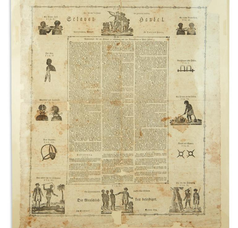 Early German-American anti-slavery broadside