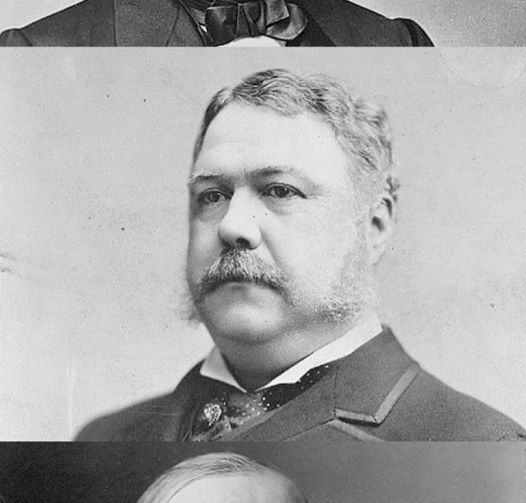 Presidents Andrew Johnson, Chester Arthur and William McKinley