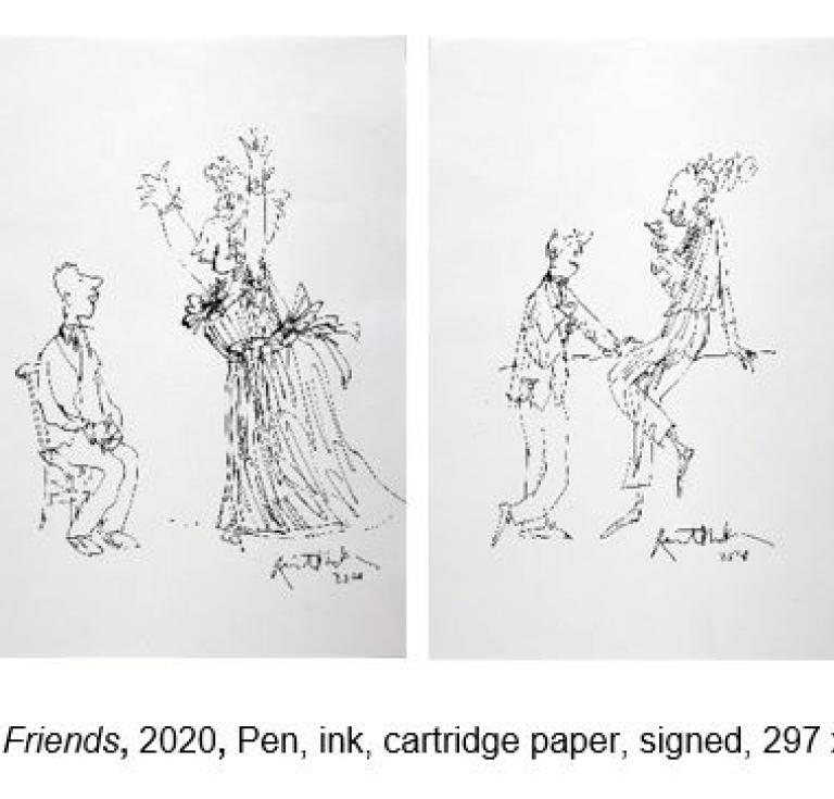 Quentin Blake Imaginary Friends