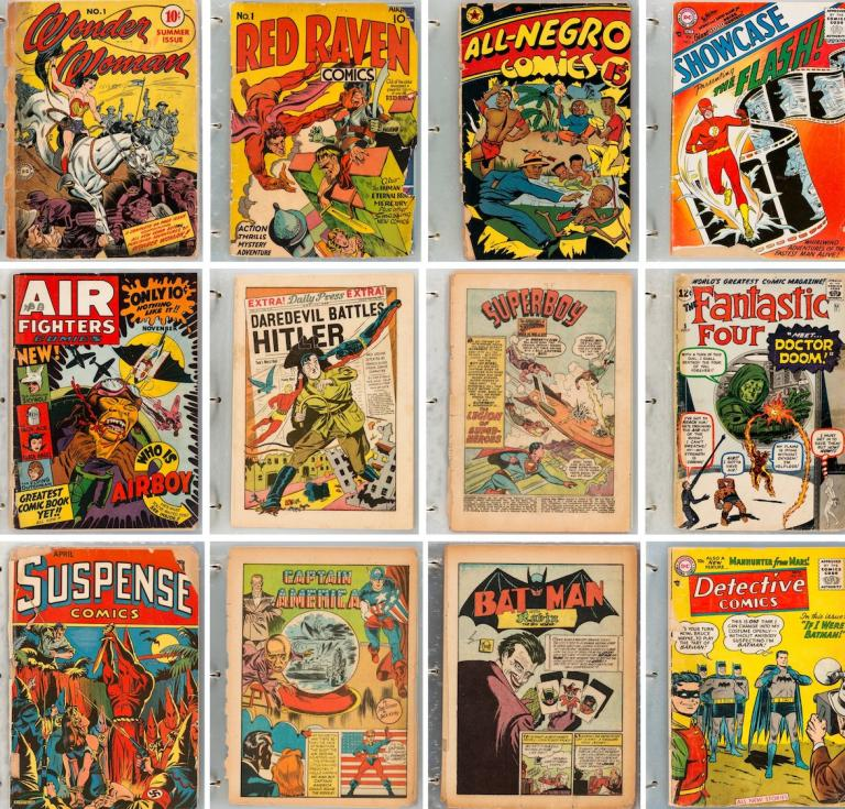 Q Collection of Comic Books