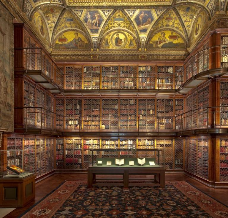 J. Pierpont Morgan's Library, The Morgan Library & Museum.