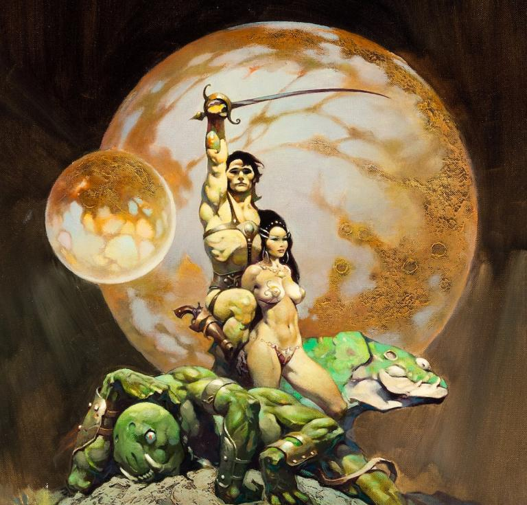 Frazetta, The Princess of Mars