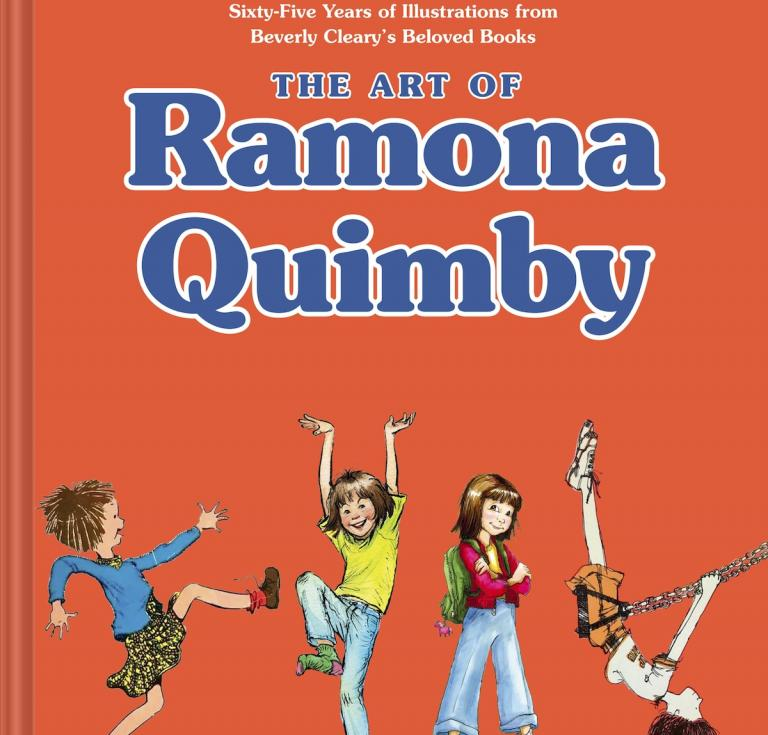 Art of Ramona Quimby cover