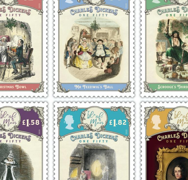 Charles Dickens stamps