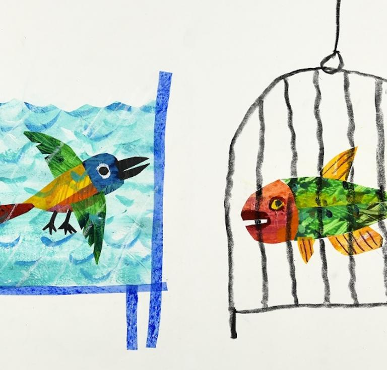 Eric Carle, Illustration for The Nonsense Show