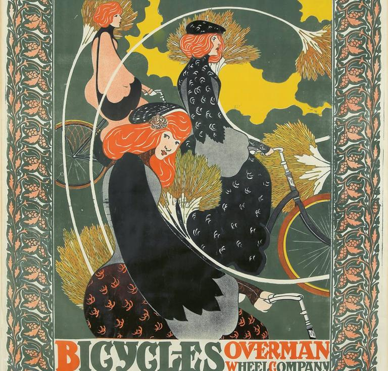 Victor Bicycles / Overman Wheel Co. poster