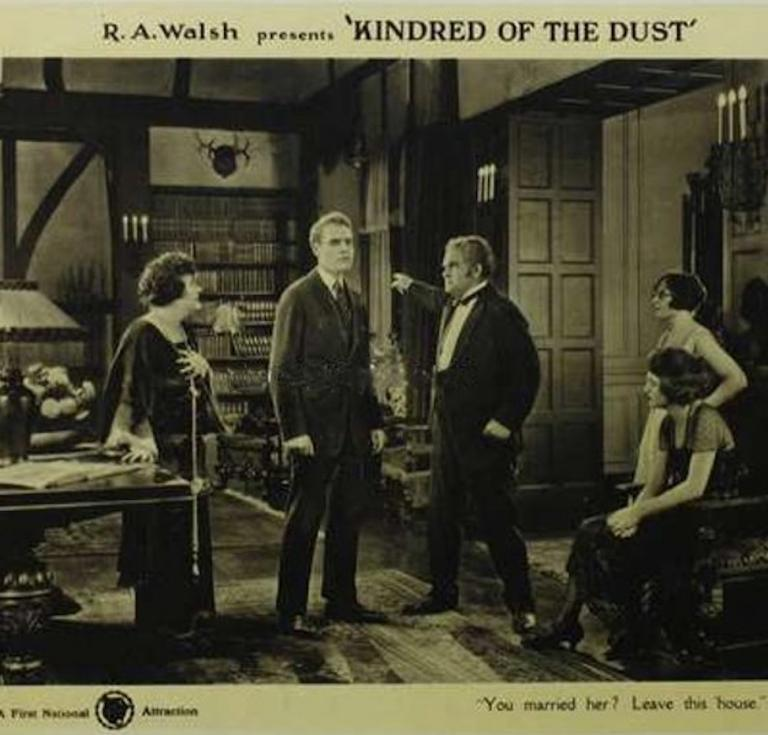 Movie poster of Kindred of the Dust
