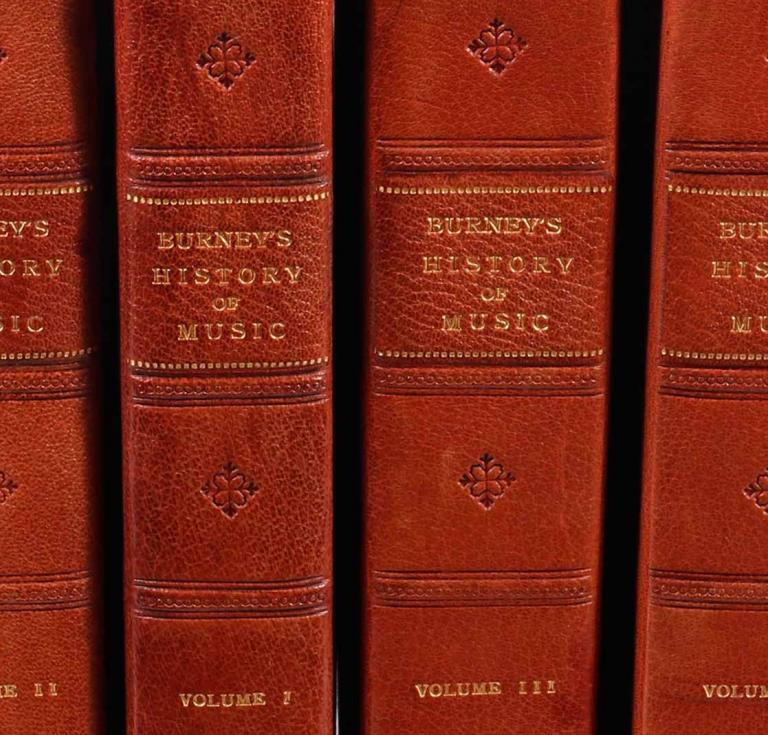 Charles Burney music books