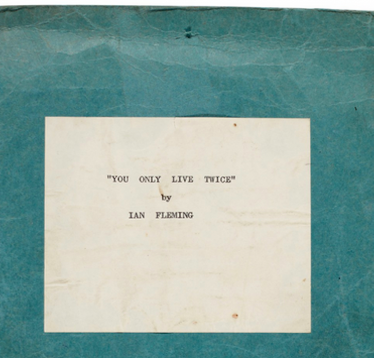 "Typescript copy of ""You Only Live Twice"""