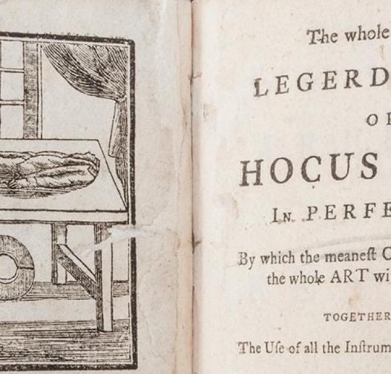 The Whole Art of Legerdemain; or Hocus Pocus in Perfection