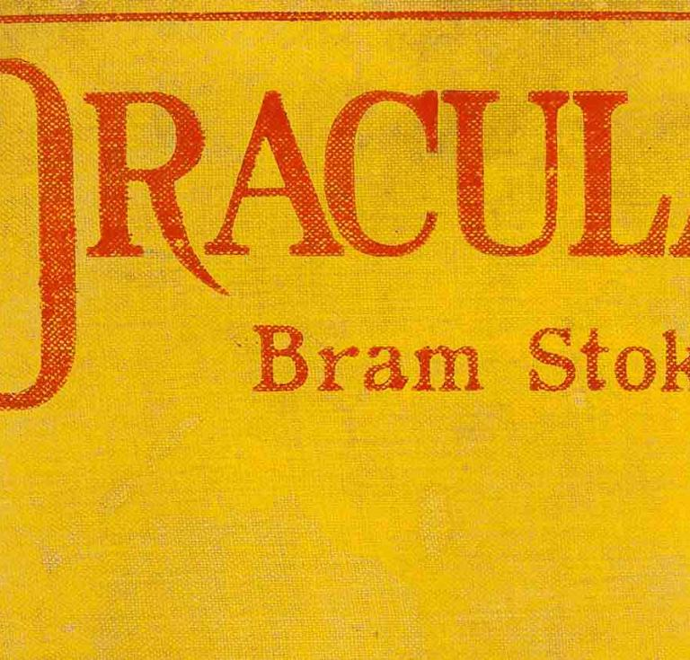 Dracula First Edition 1897