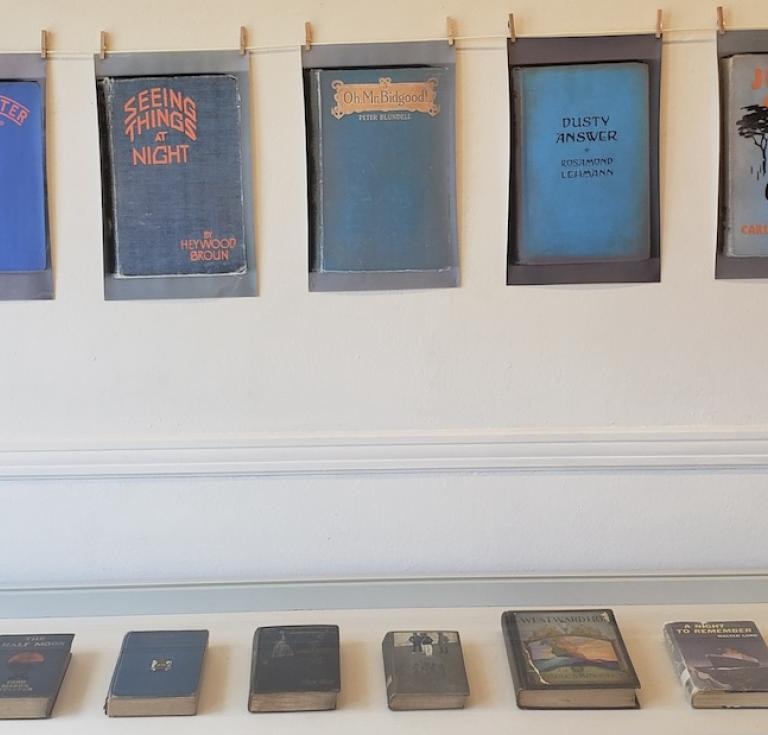 New Haven's Institute Library book covers gallery view