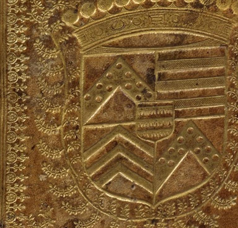 Binding with the arms of the Marquis de Saint-Luc, offered at ALDE this week